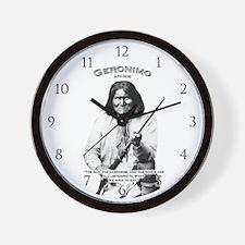 Geronimo 01 Wall Clock