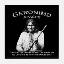 Geronimo 01 Tile Coaster