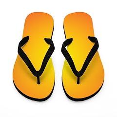 Orange Sun Shine (FF) Flip Flops