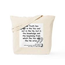 Barth Truth Quote Tote Bag