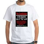 Constitution White T-Shirt