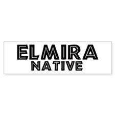 Elmira Native Bumper Bumper Sticker