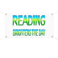 Reading Brightens Banner