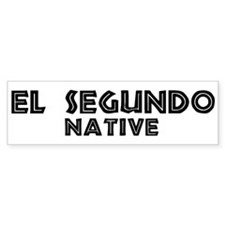 El Segundo Native Bumper Bumper Sticker