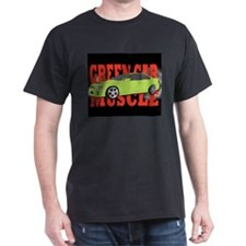 Green car muscle T-Shirt