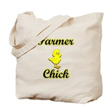 Farmer Chick Tote Bag