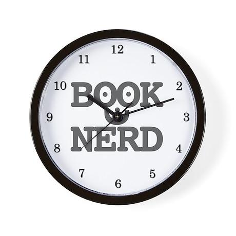 Book Nerd - Wall Clock