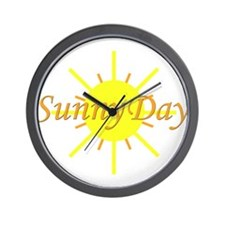 Sunny Day.png Wall Clock