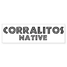 Corralitos Native Bumper Bumper Sticker