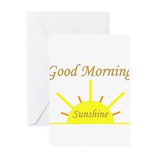 Good Morning Sunshine.png Greeting Card