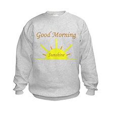 Good Morning Sunshine.png Sweatshirt