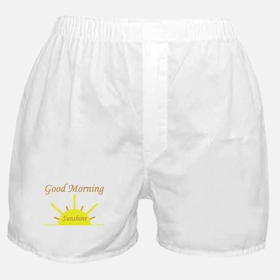 Good Morning Sunshine.png Boxer Shorts
