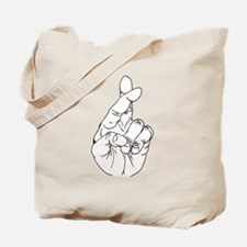 Fingers Crossed.png Tote Bag