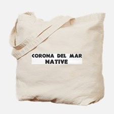 Corona Del Mar Native Tote Bag