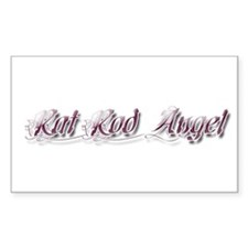 Rat Rod Angel Decal