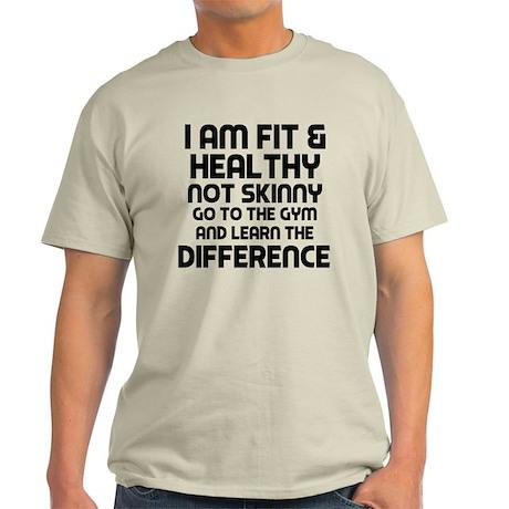 I am Fit & Healthy Light T-Shirt