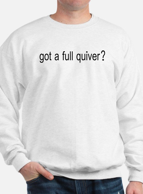 FULL QUIVER FRONT AND BACK DESIGNS Sweatshirt