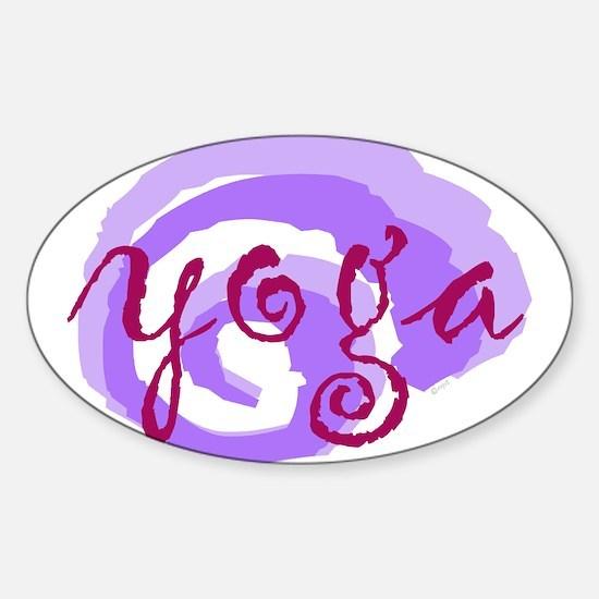 Unique Mind body spirit Sticker (Oval)