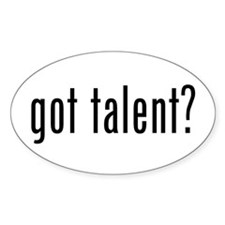 Got Talent (Milk Style) Decal