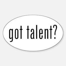 Got Talent (Milk Style) Decal