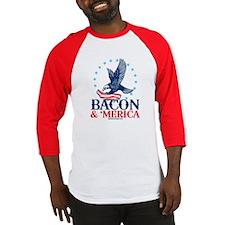 Bacon  Merica Baseball Jersey