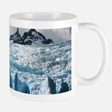 Blue Patagonian Glacier - Large Mugs