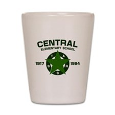 Central Elementary Shot Glass