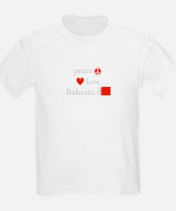 Peace, Love and Bahrain T-Shirt