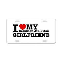 I love my Brazilian Jiu Jitsu Girlfriend Aluminum