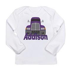 Trucker Addison Long Sleeve Infant T-Shirt