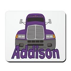 Trucker Addison Mousepad