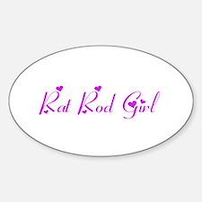 Rat Rod Girl Decal