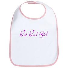 Rat Rod Girl Bib