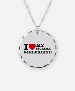 I love my Escrima Girlfriend Necklace