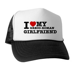 I love my Greco Roman Girlfriend Trucker Hat