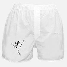 Desert Frog w Trident Boxer Shorts