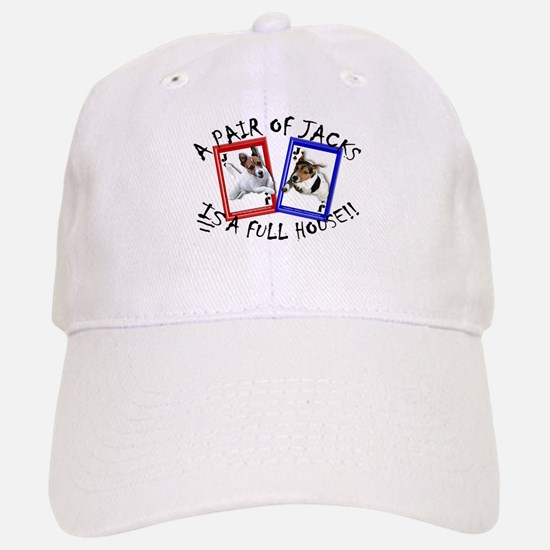 "Jack Russell Terrier ""PAIR OF JACKS"" Baseball Baseball Cap"