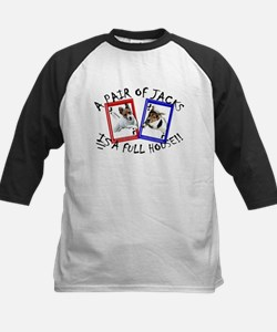 "Jack Russell Terrier ""PAIR OF JACKS"" Tee"
