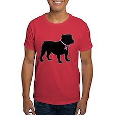 Bulldog Breast Cancer Support T-Shirt