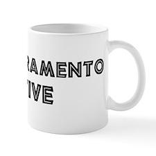 East Sacramento Native Coffee Mug