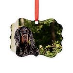 Wet Gordon Picture Ornament