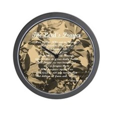 The Lords Prayer Vintage Wall Clock