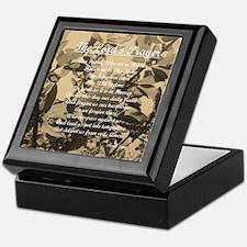 The Lords Prayer Vintage Keepsake Box