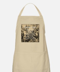 The Lords Prayer Vintage Apron