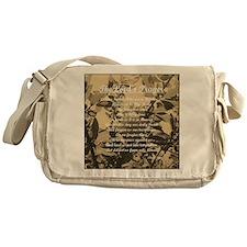 The Lords Prayer Vintage Messenger Bag
