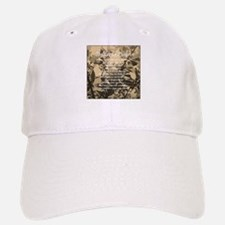 The Lords Prayer Vintage Baseball Baseball Cap