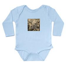 The Lords Prayer Vinta Long Sleeve Infant Bodysuit