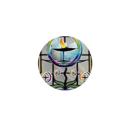 Unitarian 3 Mini Button (10 pack)