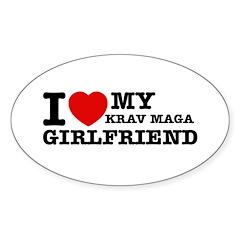 I love my Krav Maga Girlfriend Decal