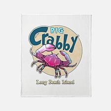 Big Crabby... Throw Blanket